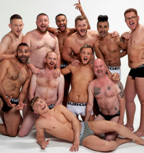 Austin Armacost's new underwear line celebrates men of all sizes in debut ad campaign
