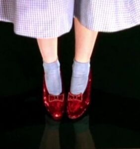 The FBI has recovered Dorothy's ruby slippers