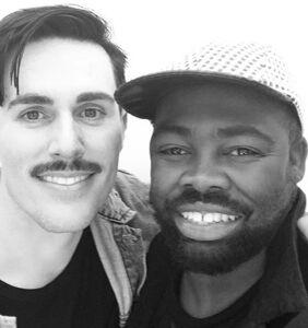 PHOTOS: 'Black and Gold' singer Sam Sparro marries boyfriend in the desert
