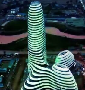 Twitter loses it as a penis-shaped skyscraper is erected in China