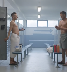 Watch Adam Rippon offer body shaving tips to NFL superstar Danny Amendola