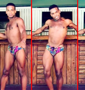 Man in tropical speedo recreates Lindsay Lohan's Mykonos dance routine to perfection