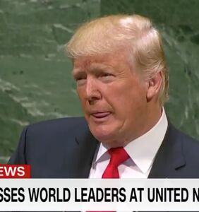 WATCH: Room full of world leaders laugh in Trump's face