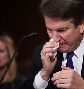 Get ready to see Brett Kavanaugh cry again because those sexual assault allegations are resurfacing