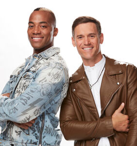 "Adam & Jerome from 'The Voice' want to show ""an example of love to America"""