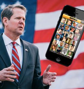 Antigaygubernatorial candidate so desperate for votes he's advertising… on Grindr?!