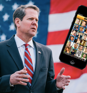 Antigay gubernatorial candidate so desperate for votes he's advertising… on Grindr?!
