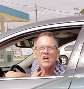 """Gay Trump supporter who chased down Latina woman with his car insists he's """"not a racist"""""""
