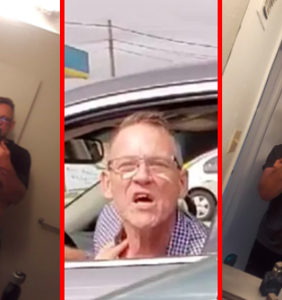 """Twitter blasts """"toothless racist"""" Charles Geier after he chases down Latina woman with his car"""