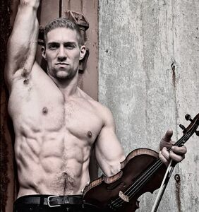 """Gay violinist says he's sorry for posing half naked in a cemetery, calls his actions """"disrespectful"""""""