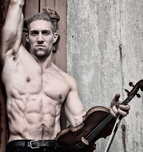 "Gay violinist says he's sorry for posing half naked in a cemetery, calls his actions ""disrespectful"""
