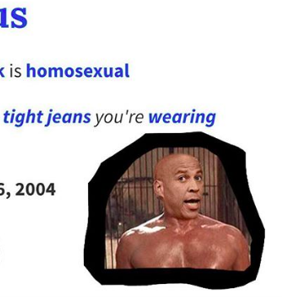 Racist and homophobic memes targeting Cory Booker are flooding in and they're absolutely awful