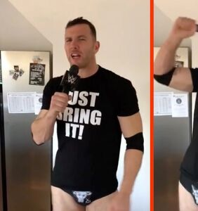 The Rock loves out rugby star Keegan Hirst's speedo-clad impression of The Rock