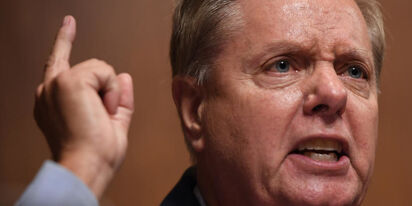 "Video of Lindsey Graham demanding someone ""Plug this hole!"" circulates on Twitter"