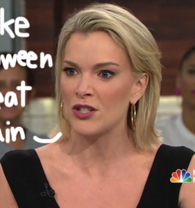 "Memers rejoice over news of Megyn ""Blackface"" Kelly's firing from NBC News"