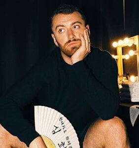 WATCH: Sam Smith surprises fans with something wriggling into his mouth