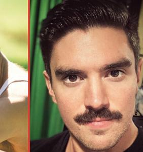 Steve Grand's new Freddie Mercury moustache has us seeing doubles