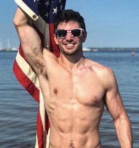 Steve Grand wants you to feel Key West pride when you wear your Speedo