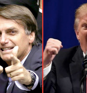Trump calls to congratulate Brazil's new president who really, really, really hates gay people