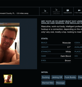 Screenshots reveal prominent ex-gay therapist is also Manhunt's 'Hotnhairy72'