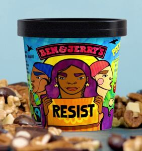 Trump is going to be royally pissed when he sees Ben & Jerry's newest flavor