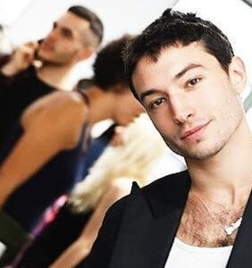 Two predatory 'monsters' tried to seduce Ezra Miller early into the queer star's career