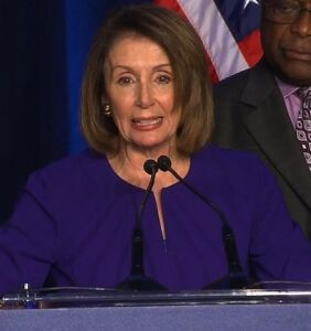 Nancy Pelosi thinks Dems should work with Republicans. Haha, NO