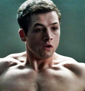"""Taron Egerton talks first gay sex scene with this """"well-known man"""""""