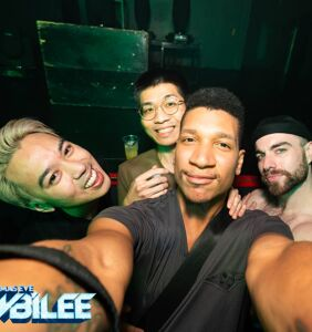 """PHOTOS: Queer Jews and the """"bagel chasers who loves them"""" party in NYC"""