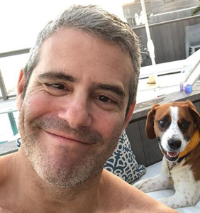 Andy Cohen just upped his daddy game