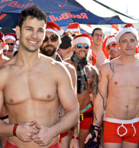 PICS: These sexy Santa Speedos will have you race to the North Pole in next to nothing