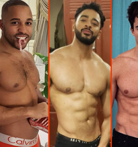 Simon Dunn's naughty list, Nyle DiMarco's endless summer, & Luke Evans' beach boyfriend