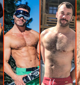 Jack Falahee's fur, Zac Efron's beard, & Max Emerson's miracle