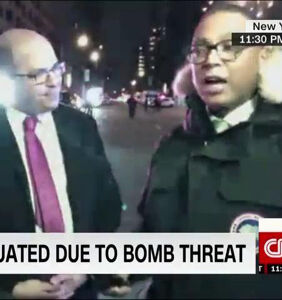 Moments after Trump tweetstorm, someone threatened to blow up Don Lemon during live taping