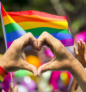 This gay couple got a wonderful surprise after a thief stole their family's rainbow flag