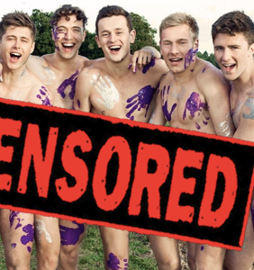 The Warwick Rowers are pissed about having these images censored from their Instagram page