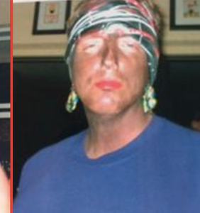 Republican politician resigns after photos of him dressed as drag Hurricane Katrina victim surface