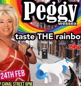 Drag Queen faces backlash over image of unicorn vomiting black & brown Pride stripes