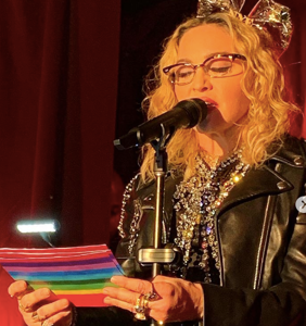 Madonna makes a surprise visit to Stonewall Inn to celebrate 50th anniversary of the riots
