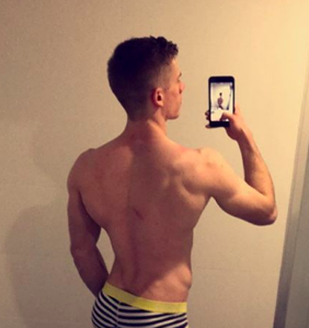 """Aussie trainer Ryan Hurst on how to """"show off your butt"""" during gym workouts"""