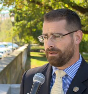Brian Sims banned from Facebook for sharing an anti-gay slur directed at him