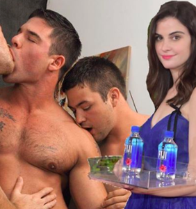 Memers can't get enough of the Fiji Water Girl
