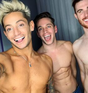 """Frankie Grande """"feeling strong and confident"""" after thruple breakup, ready to meet his next soulmates"""