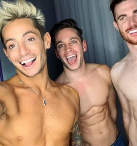 "Frankie Grande ""feeling strong and confident"" after thruple breakup, ready to meet his next soulmates"