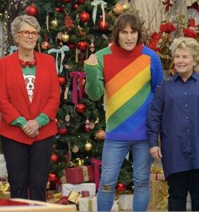 The 'Great British Bake Off' holidays specials were both very gay (as in homosexual)