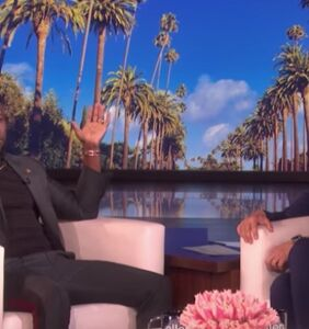 Ellen has forgiven comedian Kevin Hart for his past homophobia & asked the Oscars to take him back