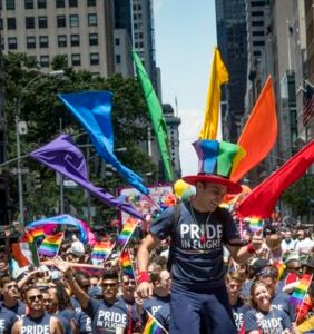 Grassroots activists launch alternative march during NYC Pride