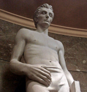 Sexy Lincoln statue goes viral
