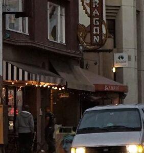 "A gunman shot a ""hail of gunfire"" through the window of a San Diego gayborhood restaurant"