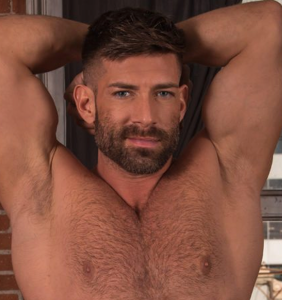 This gay adult film star is taking his love of pits to a whole new level